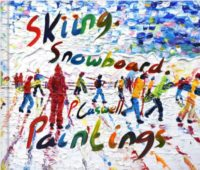 Skiing and Snowboarding Paintings Book