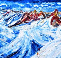 St Anton Valluga Painting