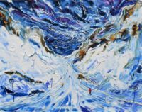 St Anton Winter Ski painting