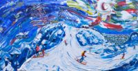 Val Thorens Painting