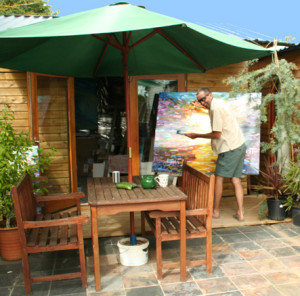 Large Paintings outdoor Studio