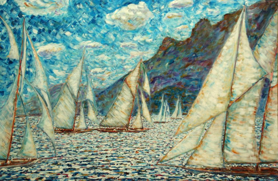 Sailing Paintings For Sale