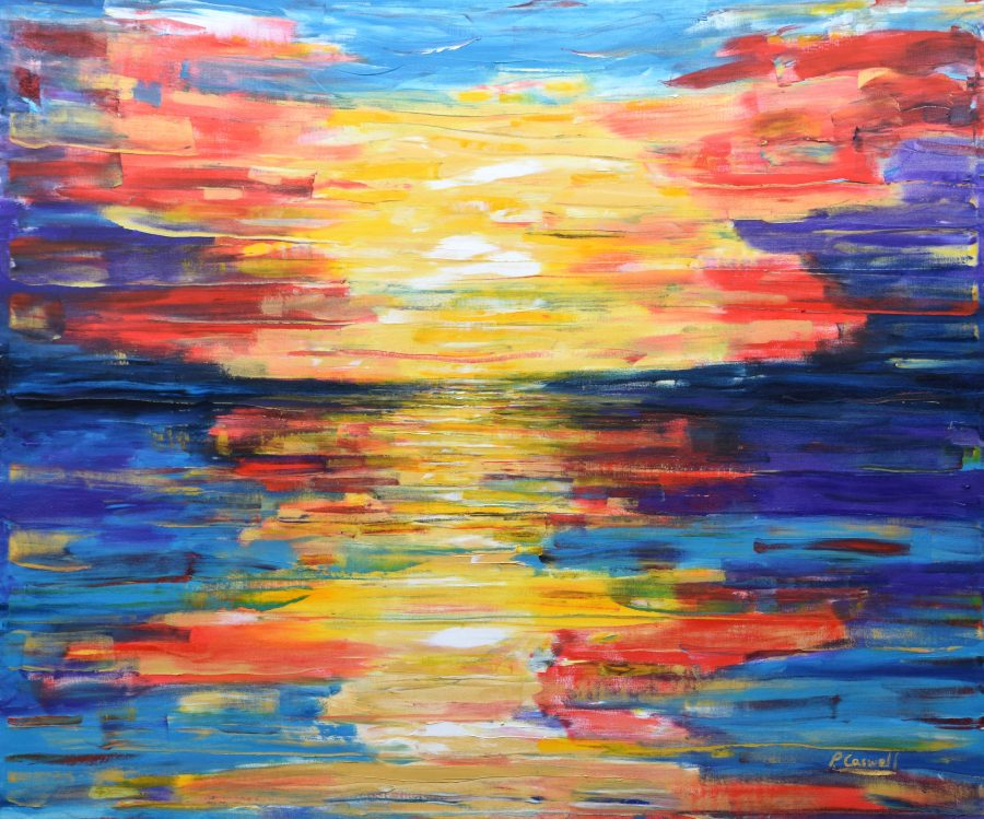 Sunset Painting For Sale BVI
