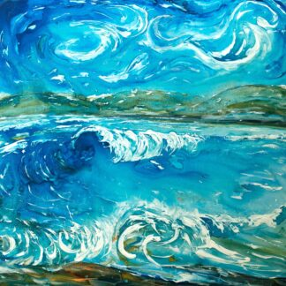 Croyde Surf Painting for sale
