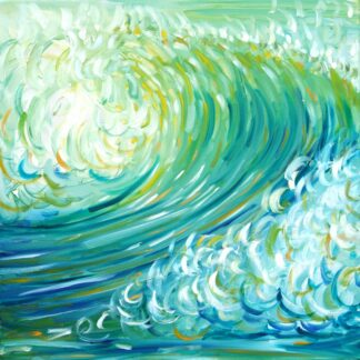 Croyde Ocean Wave Painting
