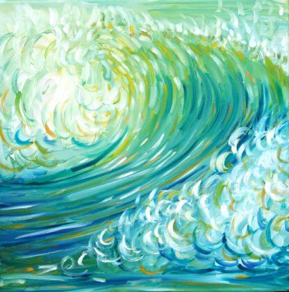 Croyde Ocean Wave Painting
