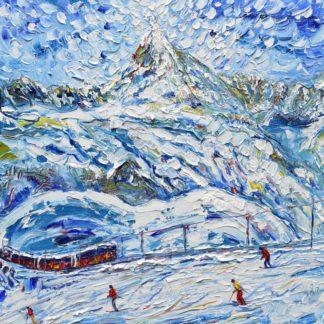 Zermatt Matterhorn Painting
