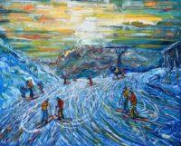 Verbier Ski Prints