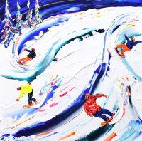 Whistler Ski Print