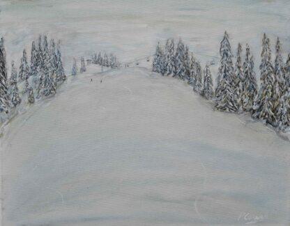 Grand Massif Ski Paintings and Prints