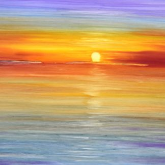 Cafe Del Mar Sunset Painting Ibiza