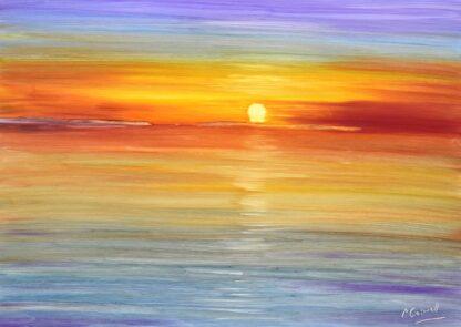 Cafe Del Mar Sunset Painting Ibiza