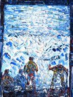 Davos Klosters Ski Prints