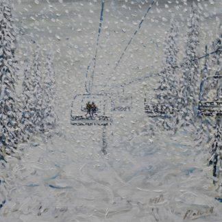 Grand Masiff Ski Painting