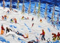 Grand Massif - Flaine Ski Prints