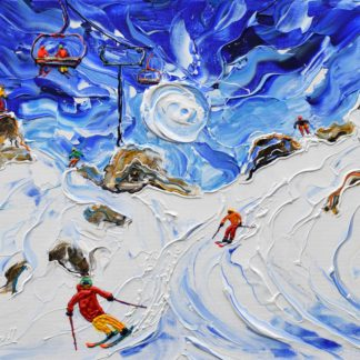 Morzine Ski Prints