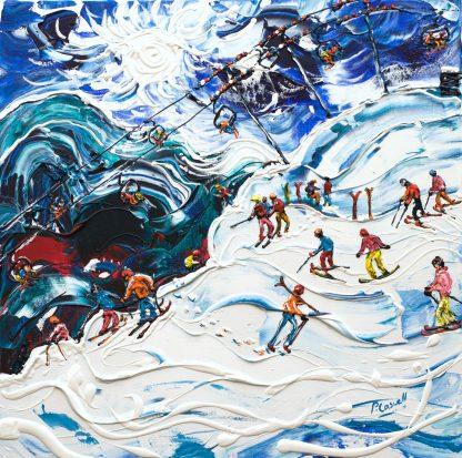 Morzine Ski Painting