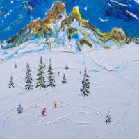 3 Vallées Ski Prints