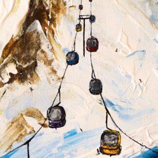 Meribel Mottaret painting plattieres 3
