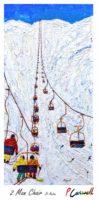 Vintage Ski Poster St Anton