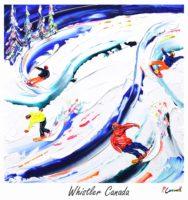 Whistler Vintage Ski Poster