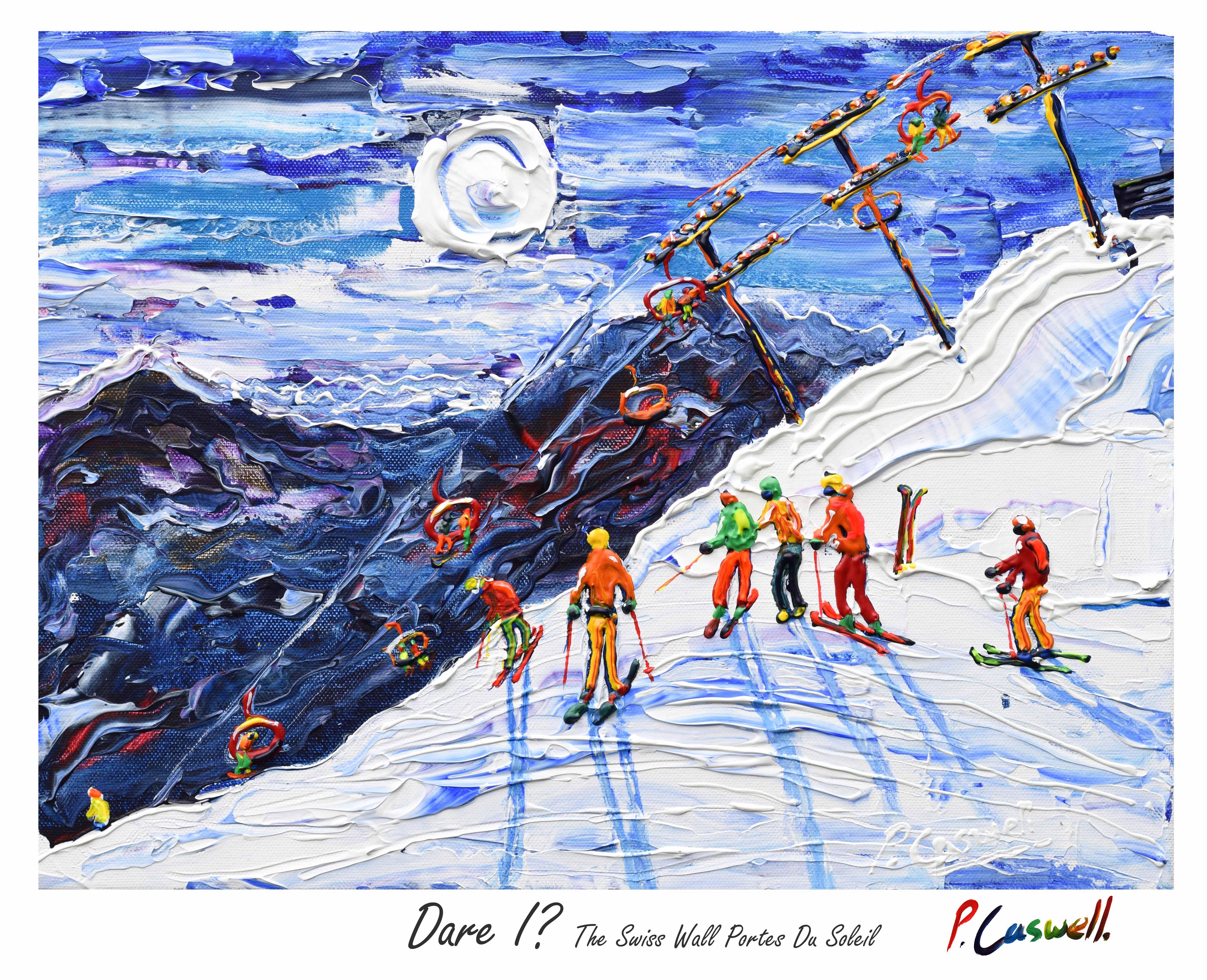 Vintage Ski Poster Morzine