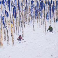 Beaver Creek and Vail Colorado Ski Paintings and Prints