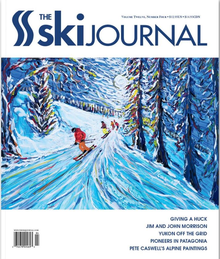 Ski Journal feature Pete Caswell's Ski Paintings
