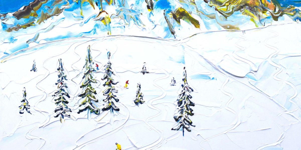 Ski Print Meribel