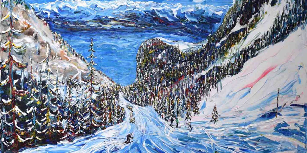 Swiss Ski Print