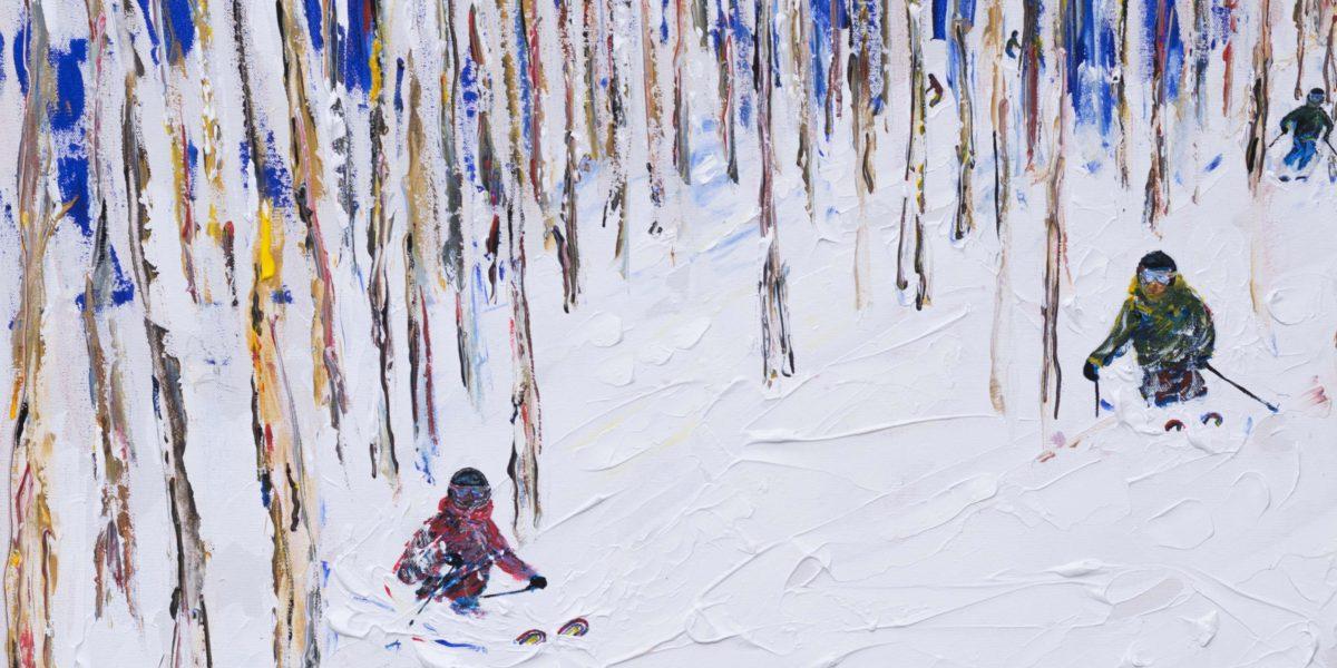 Ski Print Vail Colorado