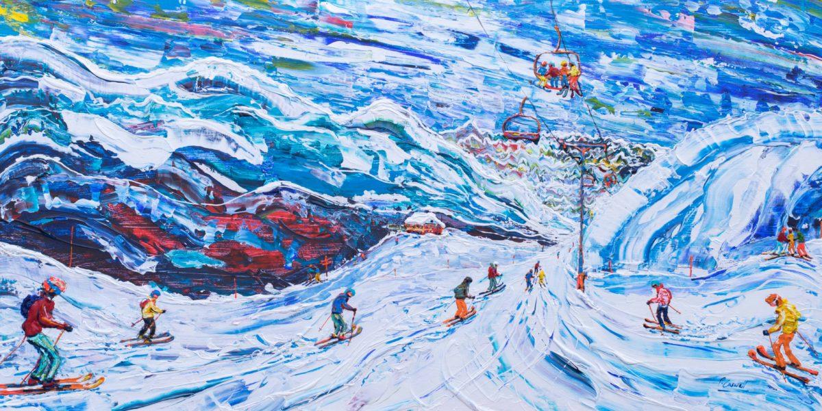Ski Print Val Thorens