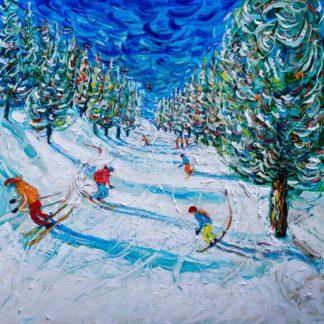 Obergurgl Ski Print