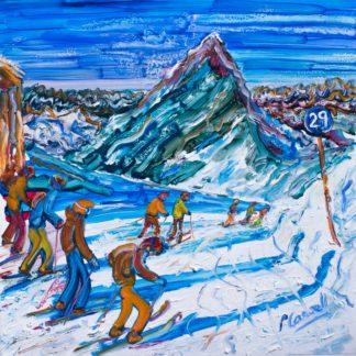 Hochgurgl Ski Print