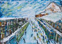 Wengen Ski Prints