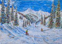 Kitzbuhel Ski Prints