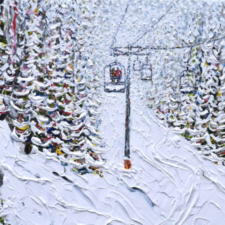 Breckenridge Ski Painting