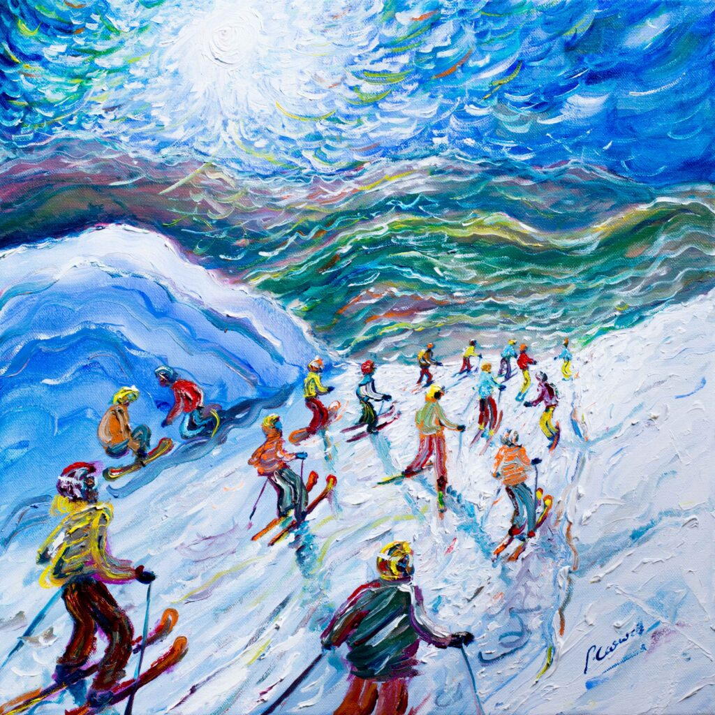 Whistler Blackcomb ski poster and snowboard posters