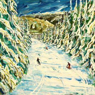 Aspen Ski Print