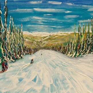 Vail and Beaver Creek Ski Painting