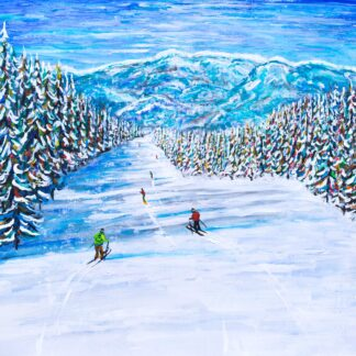 Keystone Colorado Ski Painting