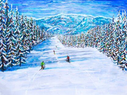 Keystone Colorado Ski Painting